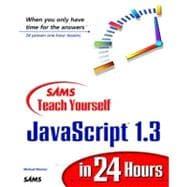 Sams Teach Yourself Javascript 1.3 in 24 Hours