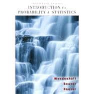 Introduction to Probability and Statistics, 13th Edition