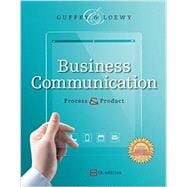 Business Communication Process & Product (Book Only)