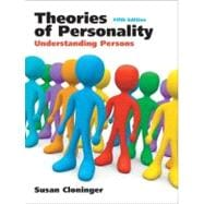 Theories of Personality : Understanding Persons
