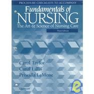 Procedure Checklists to Accompany Fundamentals of Nursing