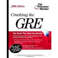 Cracking the GRE, 2005 Edition