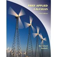 Applied Calculus, Brief, 5th Edition