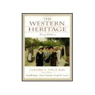 The Western Heritage:  Brief Ed., Vol.2 Since 1648