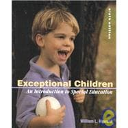 Exceptional Children an Intro to Special Education (6th Ed)