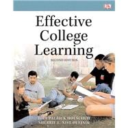 Effective College Learning Plus NEW MyStudentSuccessLab -- Access Card Package