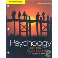 Cengage Advantage Books: Psychology Themes and Variations