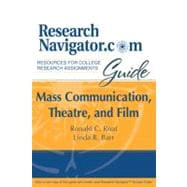 Research Navigator Comm Guide: Mass Comm