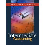 Intermediate Accounting With Thomson Analytics