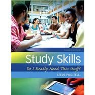 Study Skills Do I Really Need This Stuff? Plus NEW MyStudentSuccessLab  Update -- Access Card Package