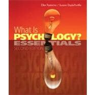 What Is Psychology? : Essentials
