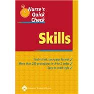 Nurse's Quick Check: Skills