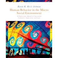 Human Behavior in the Macro Social Environment, 3rd Edition