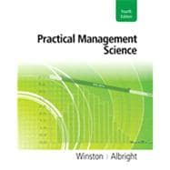 Practical Management Science (with Student Bind-In Card), 4th Edition