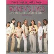 Women's Lives : A Psychological Exploration