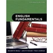 English Fundamentals (with MyWritingLab Student Access Code Card)