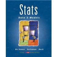 Stats: Data and Models Value Package (includes MINITAB Student Release 14 Statistical Software)