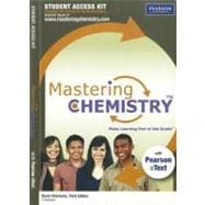MasteringChemistry with Pearson eText Student Access Code Card for Basic Chemistry