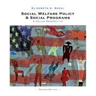 Social Welfare Policy and Social Programs : A Values Perspective