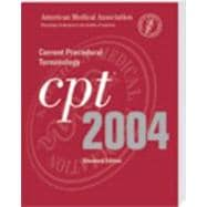 Cpt 2004 Current Procedural Terminology: Standard Edition