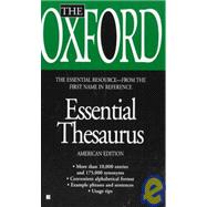 The Oxford Essential Thesaurus