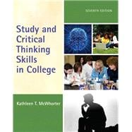 Study and Critical Thinking Skills in College Plus NEW MyStudentSuccessLab -- Access Card Package