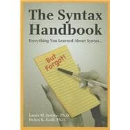 The Syntax Handbook: Everything You Learned About Syntax ...(but Forgot)