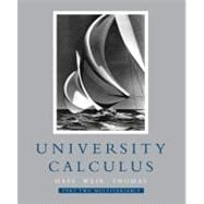 University Calculus, Part Two (Multivariable, Chap 8-14)