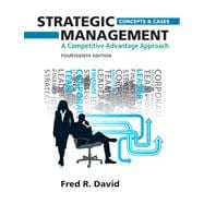 Strategic Management : A Competitive Advantage Approach, Concepts and Cases