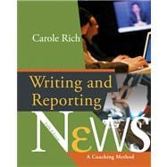 Writing & Reporting News A Coaching Method