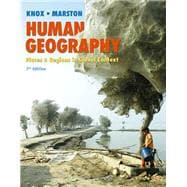 Human Geography Places and Regions in Global Context Plus MasteringGeography with eText -- Access Card Package