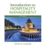 Introduction to Hospitality Management Plus MyHospitalityLab with Pearson eText -- Access Card Package