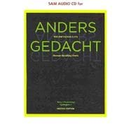 SAM Audio CD-ROM Program for Motyl-Mudretzkyj/Sp�inghaus' Anders gedacht: Text and Context in the German-Speaking World