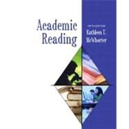 Academic Reading (book alone)