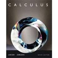 Calculus, 9th Edition
