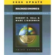 Macroeconomics Principles and Applications, 2006 Update (with InfoTrac)