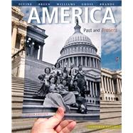 America Past and Present, Combined Volume, Black & White Plus NEW MyHistoryLab with Pearson eText -- Access Card Package