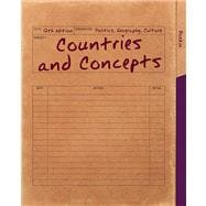 Countries and Concepts Politics, Geography, Culture Plus MyPoliSciLab -- Access Card Package with eText -- Access Card Package