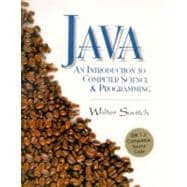 Java; An Introduction to Computer Science and Programming w/ CDROM