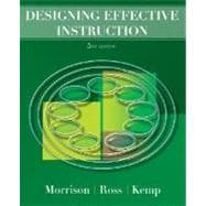 Designing Effective Instruction, 5th Edition