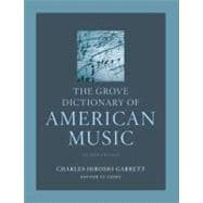 The Grove Dictionary of American Music