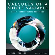 Calculus of a Single Variable: Early Transcendental Functions, 5th Edition
