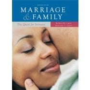 Marriage and Family: the Quest for Intimacy : The Quest for Intimacy