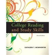 College Reading and Study Skills (with MyReadingLab Pearson eText Student Access Code Card)