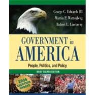 Government in America: People, Politics, and Policy, Brief Edition, Election Update