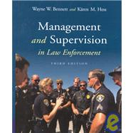 Management and Supervision in Law Enforcement (Non Info Trac Version)