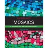 Mosaics : Reading and Writing Sentences