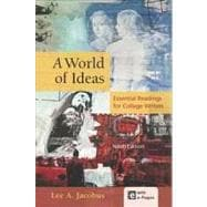 A World of Ideas Essential Readings for College Writers