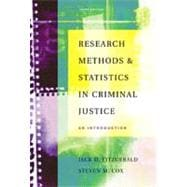 Research Methods and Statistics in Criminal Justice : An Introduction