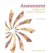 Assessment : In Special and Inclusive Education